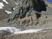 Wysokość w Andes Cordillera fotografia royalty free