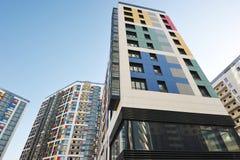 wysoko nowoczesnego wzrost budynku Zdjęcie Royalty Free