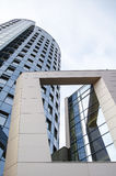 wysoko nowoczesny budynek Zdjęcia Stock