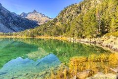 wysokości wysoki jezioro Obraz Stock