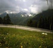 wysokogórska Austria droga Zdjęcia Stock