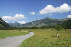 wysokogórska droga Zdjęcie Stock