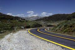 wysokogórska droga Zdjęcie Royalty Free