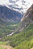wysokogórska panorama Obrazy Royalty Free