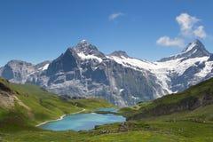wysokogórska panorama Fotografia Royalty Free