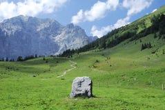 wysokogórska skała Fotografia Stock