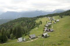wysokogórska tradycyjna wioska Obrazy Royalty Free