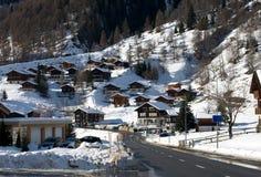 wysokogórska wioska Fotografia Royalty Free