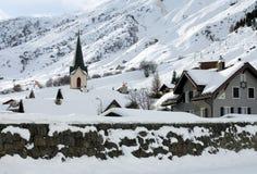 wysokogórska wioska Fotografia Stock