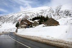 wysokogórska wioska zdjęcie royalty free