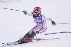 wysokogórski austriacki duerr Lena narciarstwo Zdjęcie Stock