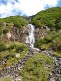 Wysokogórski góry wody strumień w górze Szwajcaria, Unterstock, Urbachtal Fotografia Royalty Free