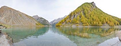 wysokogórski jeziora Zdjęcia Royalty Free