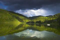 wysokogórski jeziora Zdjęcie Royalty Free