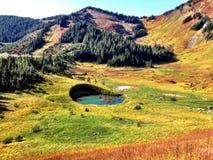 wysokogórski jeziora obrazy stock