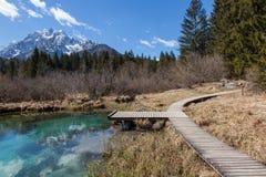 wysokogórski jeziora Zdjęcie Stock
