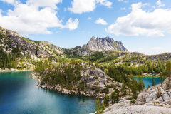 wysokogórski jeziora Obraz Stock