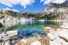 wysokogórski jeziora Fotografia Royalty Free