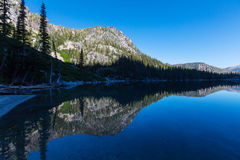 wysokogórski jeziora Obraz Royalty Free
