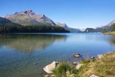 wysokogórski jezioro Zdjęcie Royalty Free