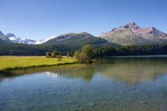 wysokogórski jezioro Fotografia Stock