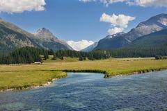 wysokogórski jezioro Obraz Royalty Free