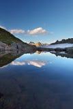wysokogórski jezioro Obraz Stock