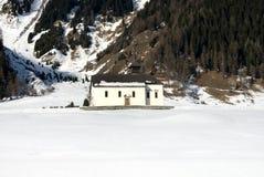wysokogórski kościół Zdjęcie Royalty Free