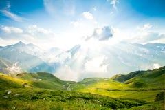 wysokogórski krajobraz Obrazy Royalty Free