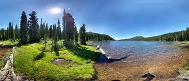 wysokogórski krajobrazu Zdjęcie Royalty Free