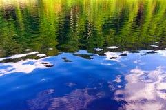 wysokogórski lake Bayern Obraz Royalty Free