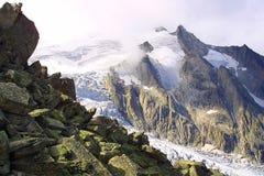 wysokogórski od szczytu Fotografia Royalty Free