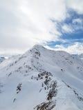 wysokogórski szczyt Zdjęcie Stock
