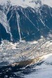 wysokogórski widok Zdjęcia Royalty Free