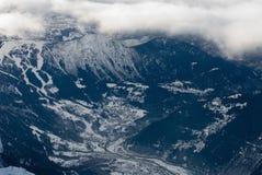 wysokogórski widok Fotografia Stock