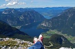 wysokogórski wielki widok Zdjęcie Royalty Free
