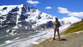 wysokogórskiego Austria grossglockner wysoka droga Zdjęcia Stock