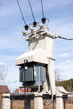Wysokonapięciowy transformator Zdjęcie Royalty Free