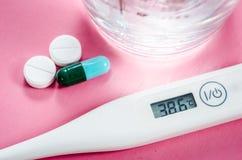 Wysokotemperaturowy i leku. obraz stock