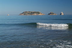 wysp medes Hiszpanii Fotografia Royalty Free