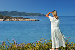 wysp ranek widok Obrazy Royalty Free