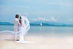 Wyspa ślub Obrazy Stock