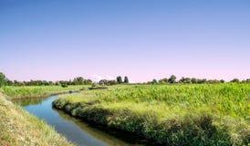 Wyspa Świątobliwy Erasmus ranku krajobraz zdjęcia royalty free