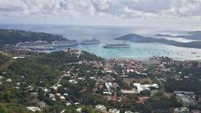 wyspa świątobliwy Thomas Fotografia Royalty Free
