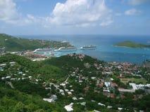 wyspa świątobliwy Thomas Zdjęcia Royalty Free