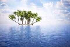 Wyspa Obrazy Stock