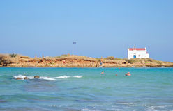 Wyspa Afentis Christos zdjęcia stock