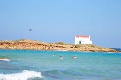 Wyspa Afentis Christos fotografia stock