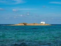 Wyspa Afentis Christos blisko wyspy Crete, Grecja zdjęcie royalty free