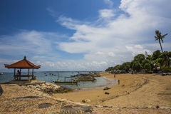 Wyspa Bali, Sanur teren Morze i plaże zdjęcia stock